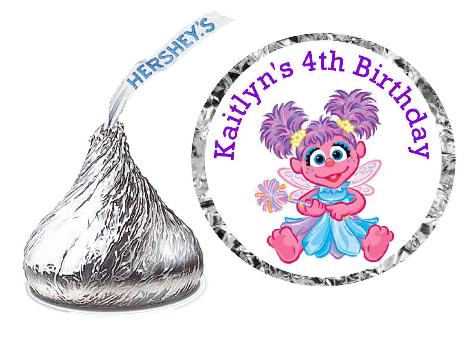 216 Abby Cadabby Birthday Party Favors Hershey Kiss Labels | eBay