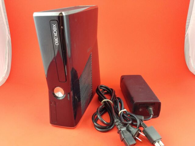 Xbox 360 Slim Console 250GB System [w/ AC Only] Tested & Working