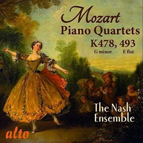 Mozart / Nash Ensemb - Two Piano Quartets K478 & K493 [New CD]
