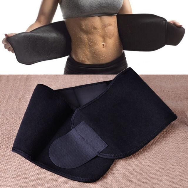 Weight Loss Fat Burn Slim Waist Tummy Trimmer Belt Sweat Band Body Shaper Wrap
