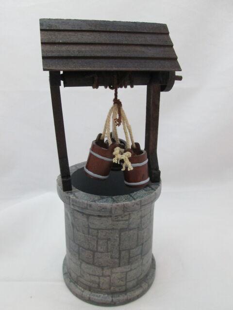 Gnome Garden: Miniature Dollhouse FAIRY GARDEN Wishing Well
