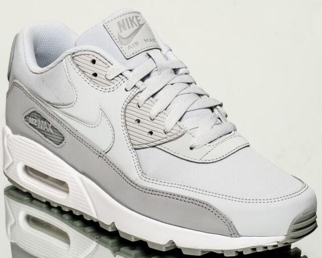 Nike Air Max 90 Essential men lifestyle NEW wolf grey pure platinum 537384-088