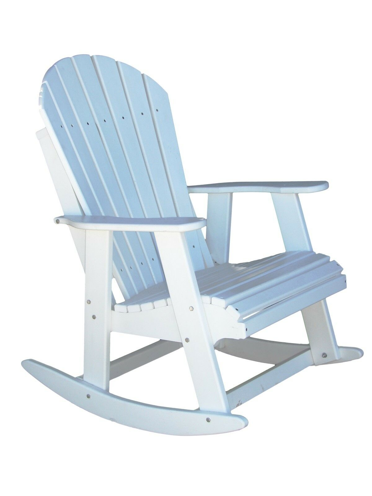 phat tommy 702 rockerpoly white recycled poly adirondack patio