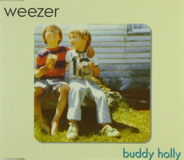 Maxi CD - Weezer - Buddy Holly - #A2461