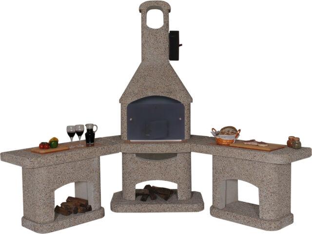 Möbel Für Außenküche : Grillkamin nova quatro außenküche braun wellfire ebay
