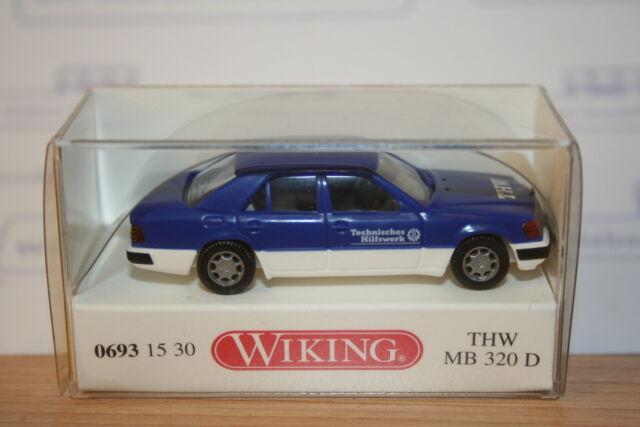Wiking 06931530, MB 320 D, THW, neu, OVP, Mercedes Benz