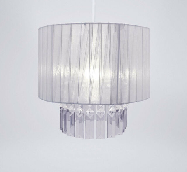 Modern Chandelier Style Ceiling Pendant Light Lamp Shade Acrylic ...