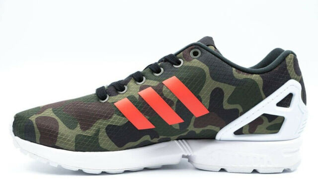 NEW~Adidas ZX FLUX CAMO Running 8000 TORSION 700 Camouflage gym Shoes~Mens  sz