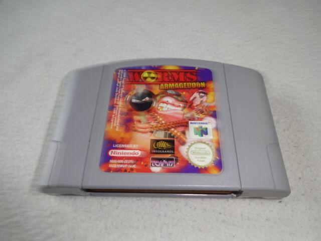 Worms Armageddon N64 Spiel nur das Modul