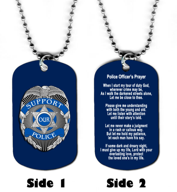 dog pendant storm black tag necklace police necklaces ip