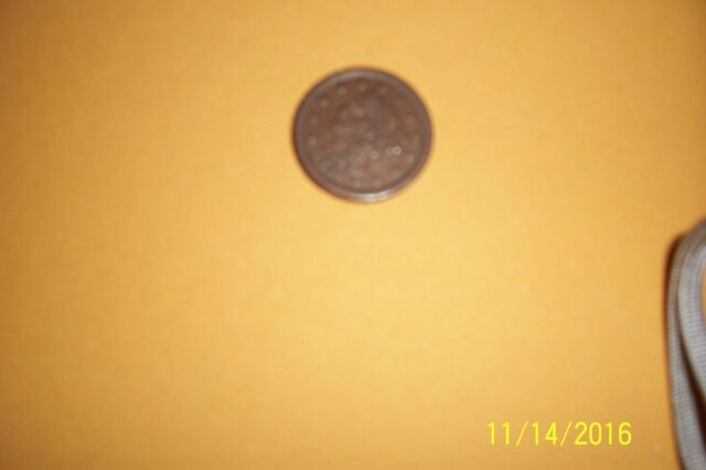 1851  Braided Hair Cent