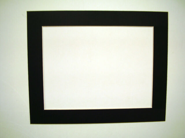 Picture Framing Mats 11x14 for 10x13 Photo or Painting Black | eBay