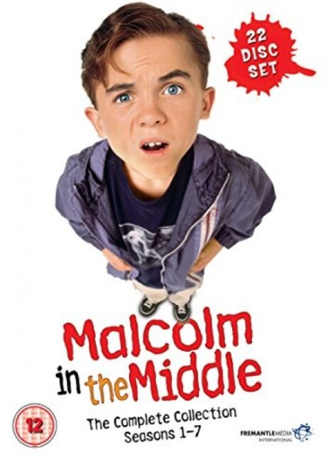 Malcolm In The Middle: The Complete Collection Box Set - Seasons 1-7 - DVD
