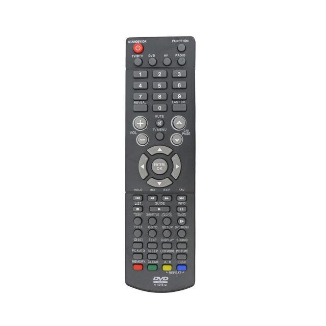 NEW FERGUSON TV Remote Control - F1907LEVD, F1915LVD , F1915LVD2