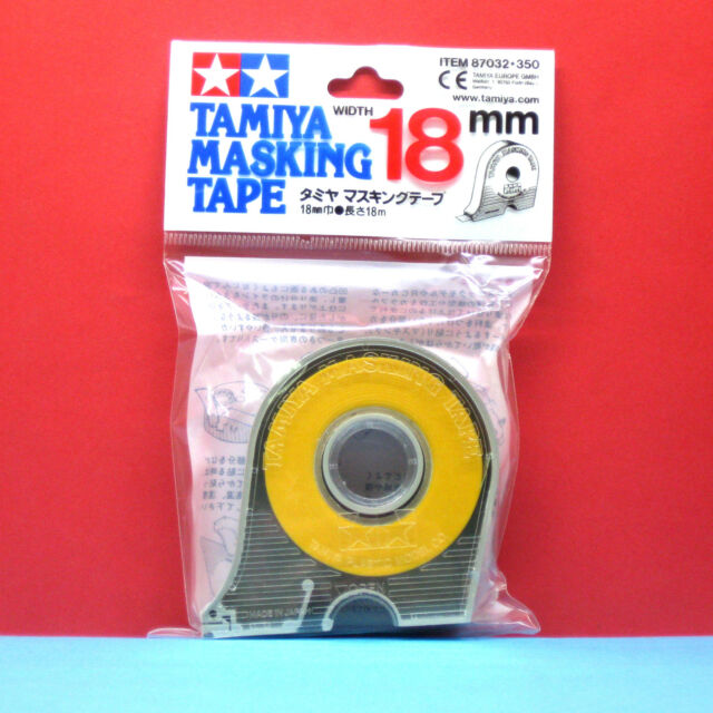 Tamiya #87032 Masking Tape with Dispenser 18mm x 18M length