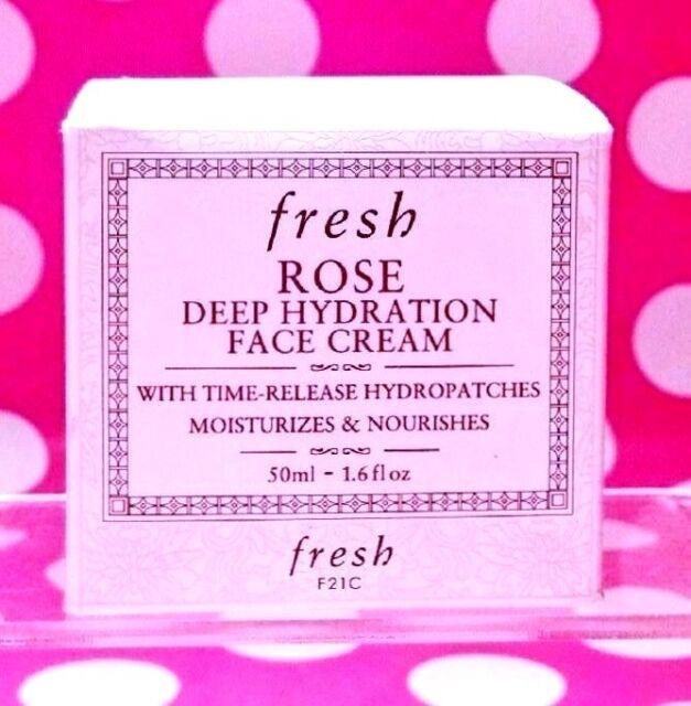 FRESH ROSE DEEP HYDRATION FACE CREAM 1.6 OZ FULL SIZE!  FRESH-AUTHENTIC-BOX!