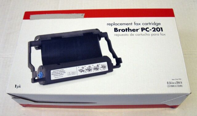 Office Depot Brother Pc 201 Thermal Fax Cartridge New