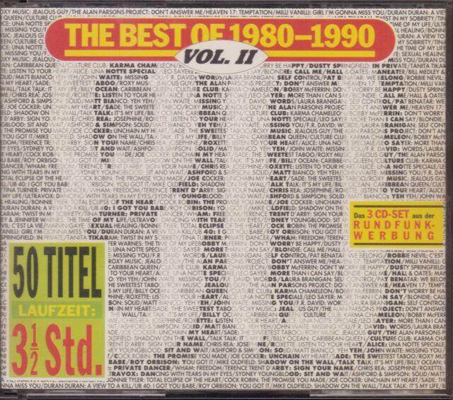 CD-Album: The Best Of 1980-1990, Vol. 2 (Vol. II), 3 CDs