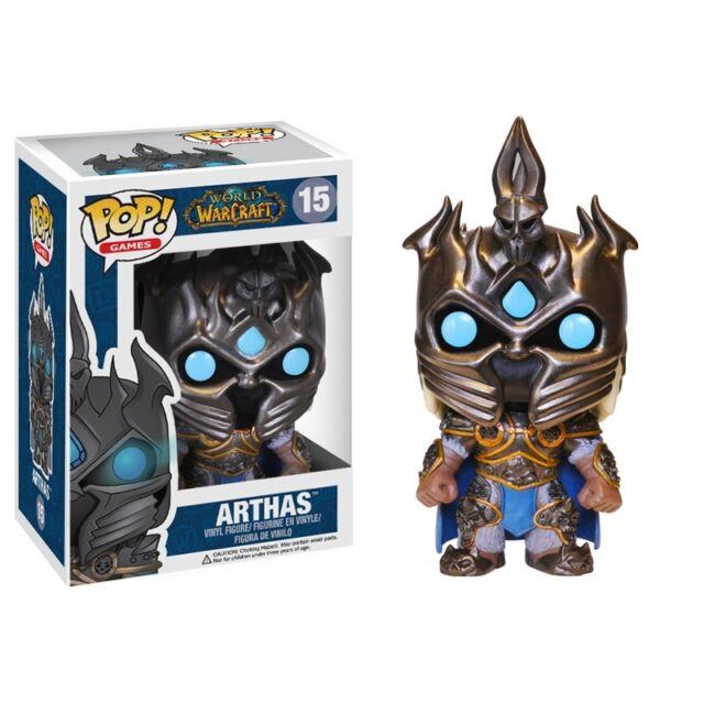 Arthas Menethil Lich King World of Warcraft POP! #15 Figur Funko
