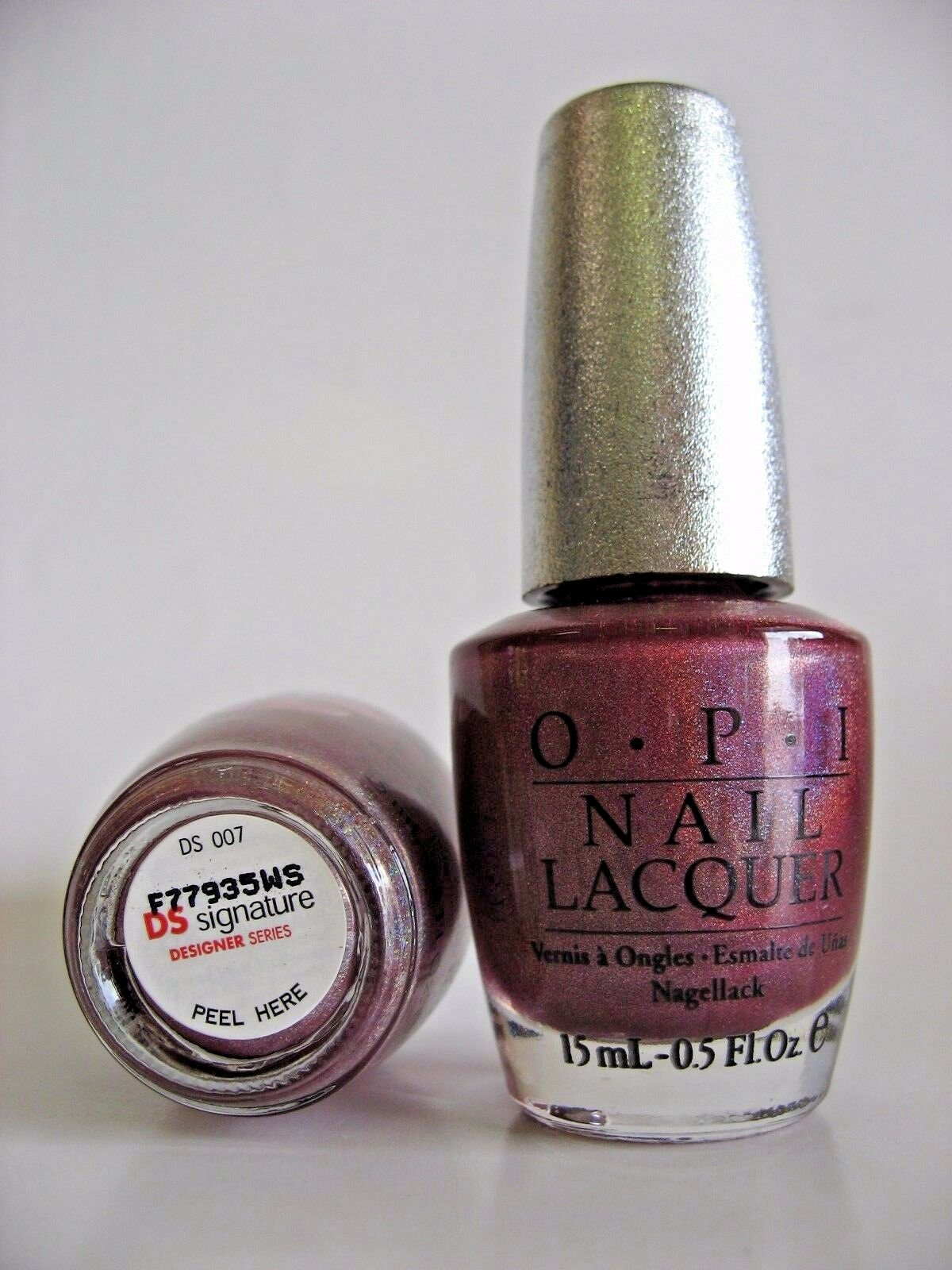 Opi opi nail polish lacquer designer series signature ds 007 picture 2 of 2 prinsesfo Image collections