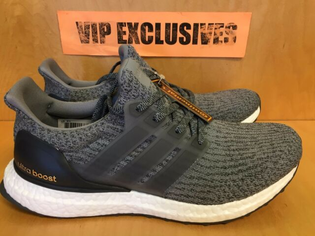 Adidas Ultra Boost 3.0 Mystery Heather Grey Dark Gray 2017 UltraBoost BA8849