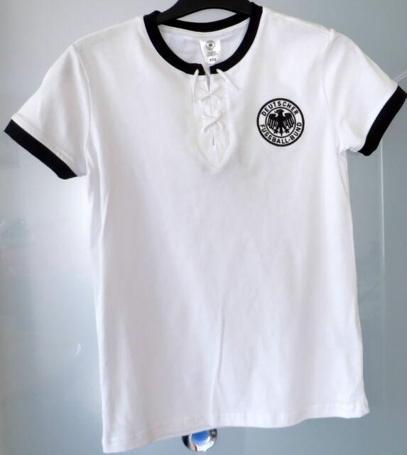 NEU mit Etikett: DFB DEUTSCHLAND RETRO Trikot WM 1954! Aus DFB-Fan Shop Gr. 152!