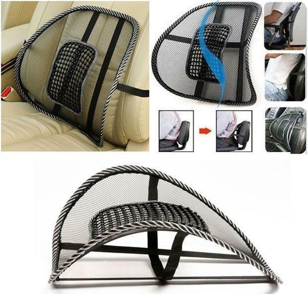 cooling office chair. New Massage Cushion Vent Mesh Back Lumber Support Office Chair Car Seat Pad Cooling