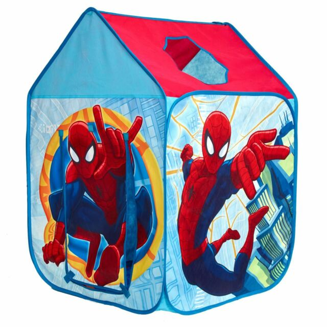 OFFICIAL SPIDERMAN WENDY HOUSE PLAY TENT CHILDRENS POP UP EASY ASSEMBLY  sc 1 st  eBay & Character Play Tents Paw Patrol Thomas Disney Cars Peppa Pig ...
