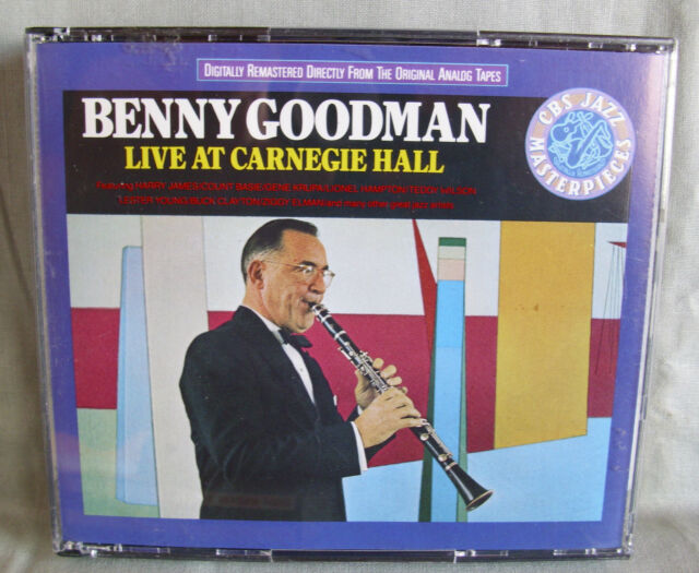 Benny Goodman- LIVE at Carnegie Hall- 2-CD-Box- Made in Austria WIE NEU