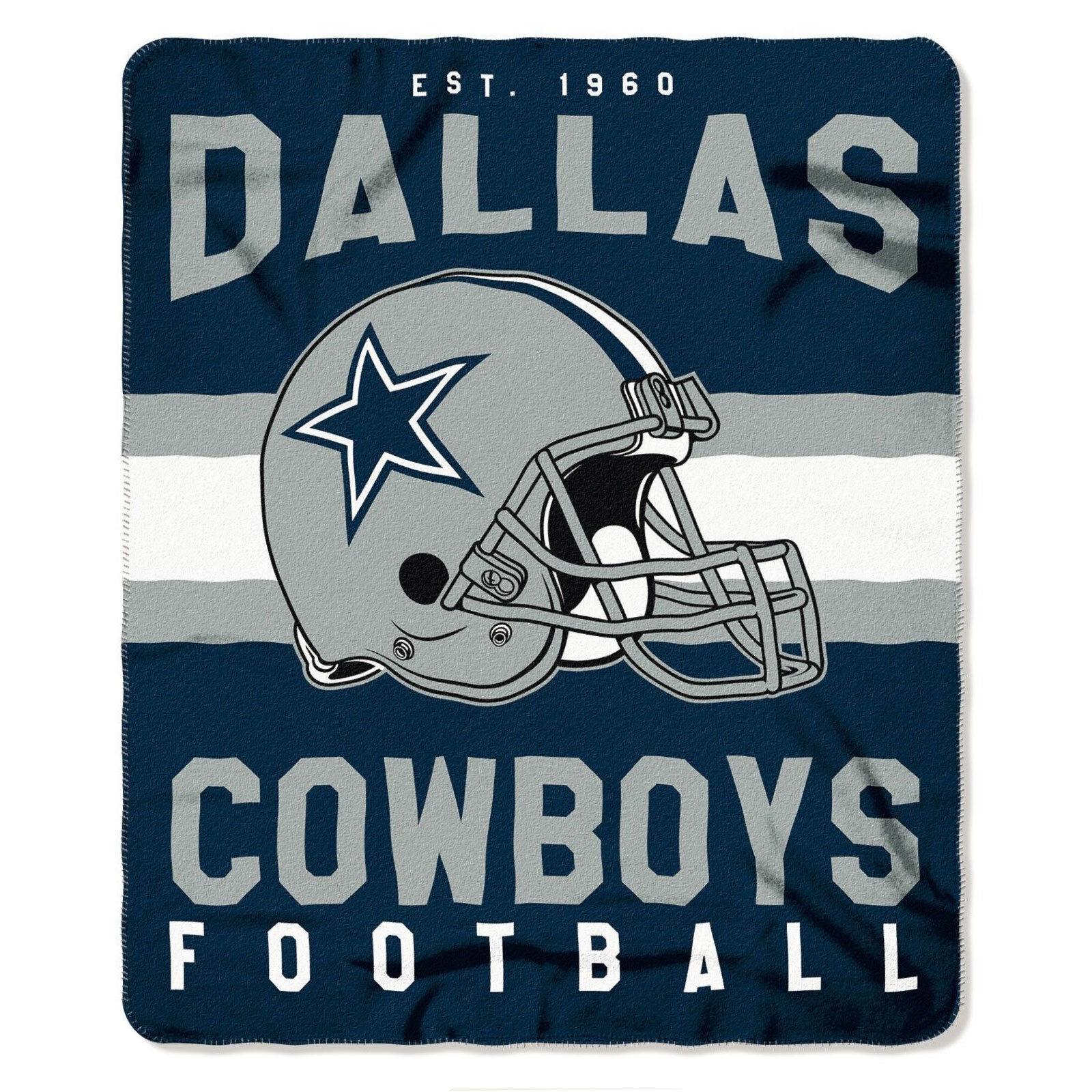 NFL Dallas Cowboys 50 X 60 Fleece Throw Blanket Northwest | eBay