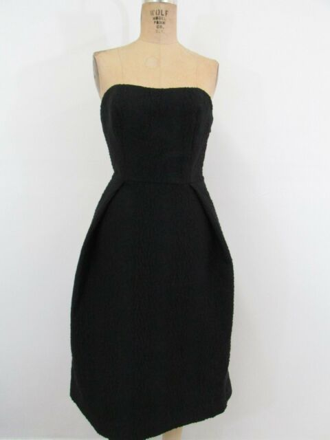 Lord & Taylor Black Strapless Cocktail/party Dress-size 6   eBay