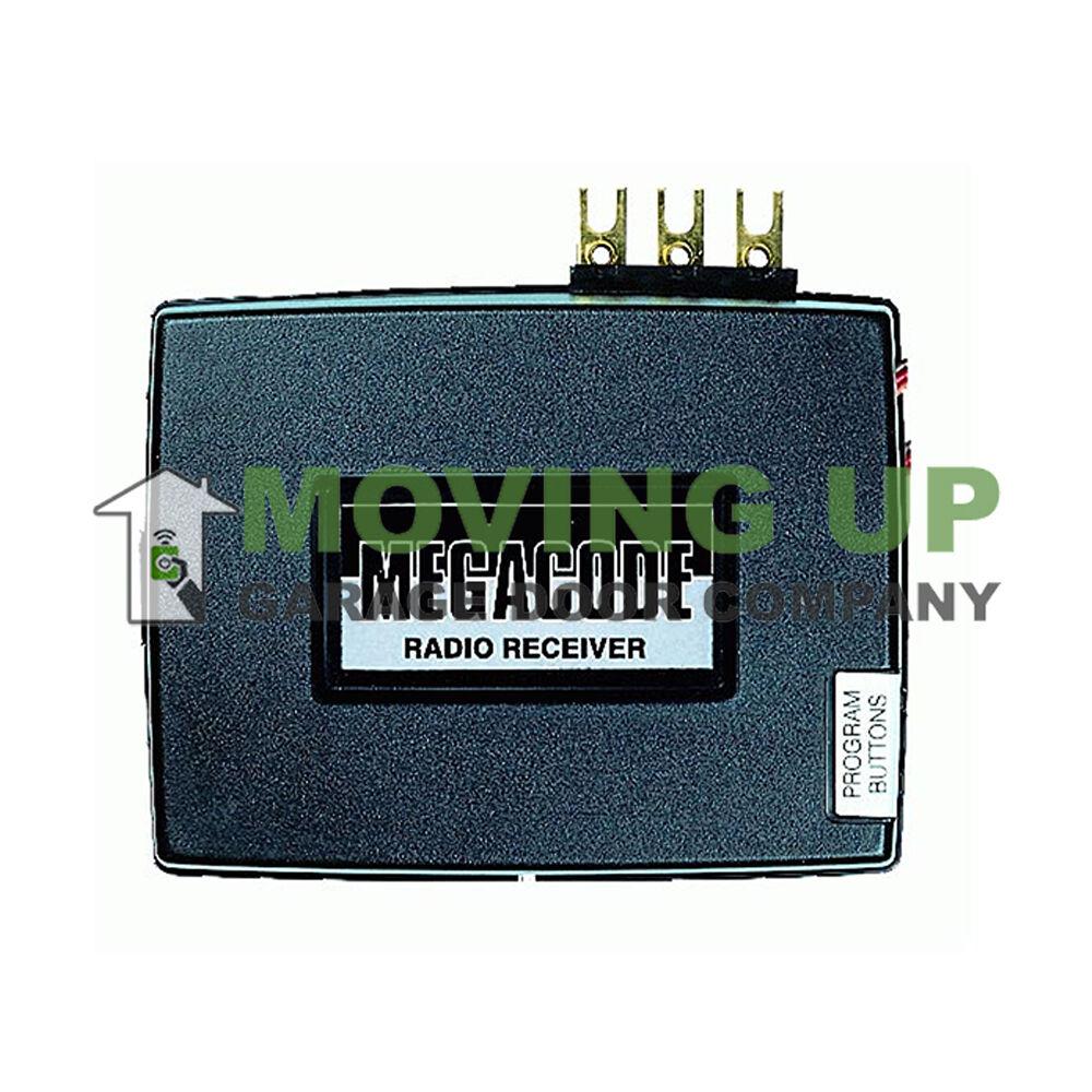 Linear Mdr 2 Megacode 2 Channel Receiver Radio Dnr00072 Garage Door
