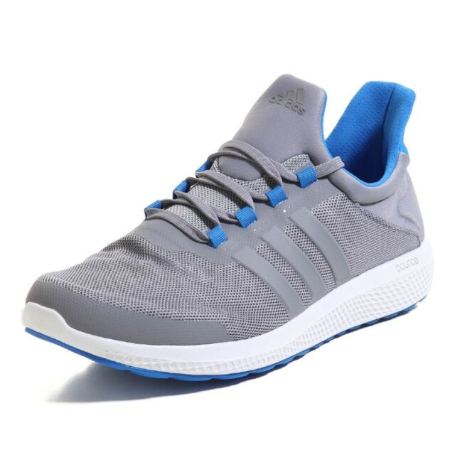 Adidas Men Athletic Shoes Climachill Sonic Running Shoe Gray