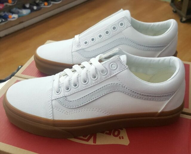 vans old skool gum sole ebay