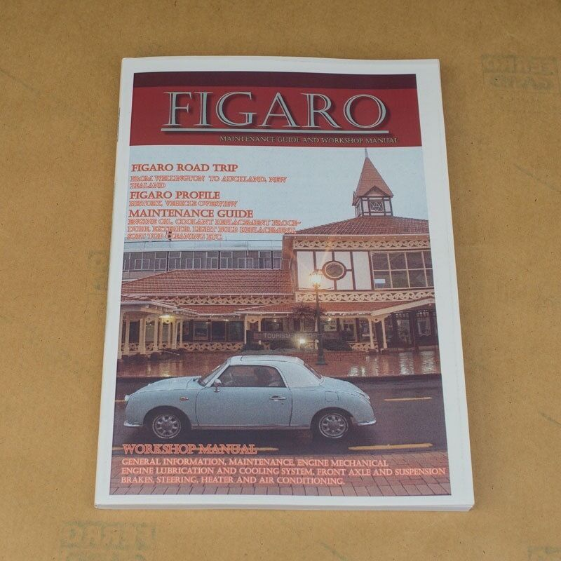 nissan figaro maintenance guide and workshop manual | ebay, Wiring diagram