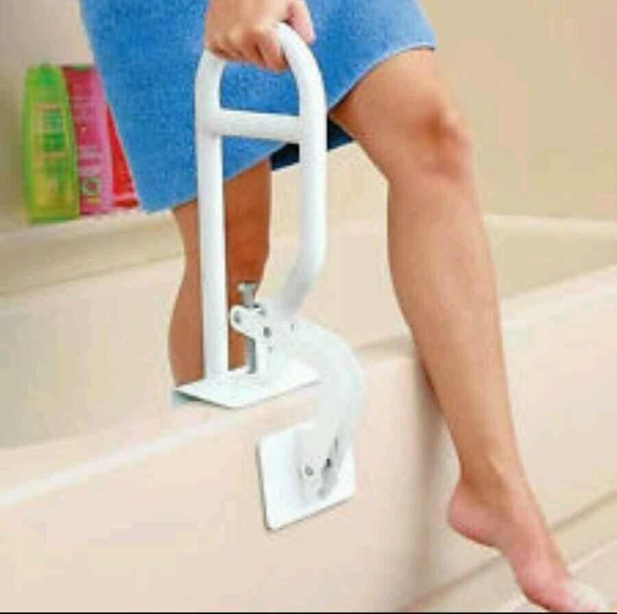 Bath Safety Bar Bathtub Rail Grab Bathroom Shower Handle Tub