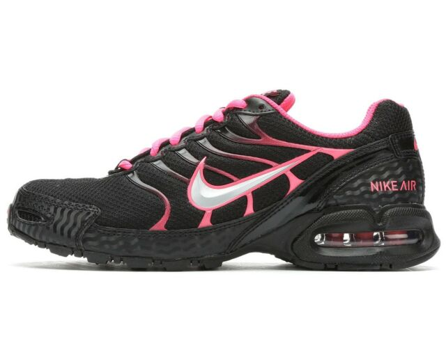 Nike Air Max Torch 4 Womens 343851-006 Black Pink Flash Running Shoes Size 7