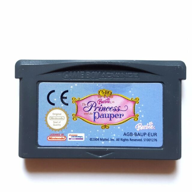 GBA - Barbie The Princess And The Pauper für Nintendo Gameboy Advance