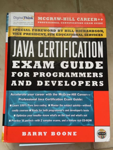 Java Certification for Programmers and Developers by Barry Boone ...