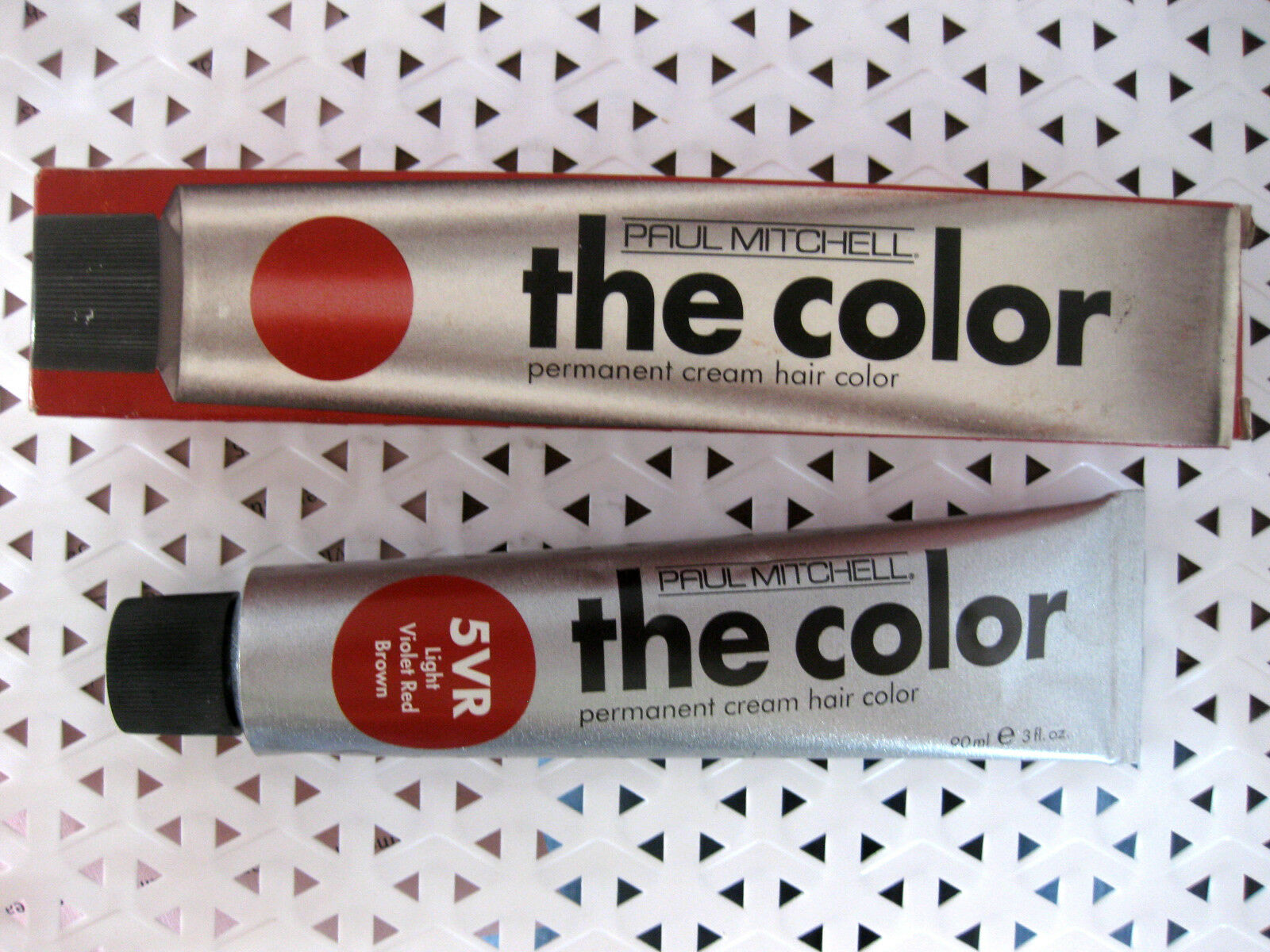 Paul Mitchell The Color Permanent Cream Hair Color 3vr Violet Red Ebay