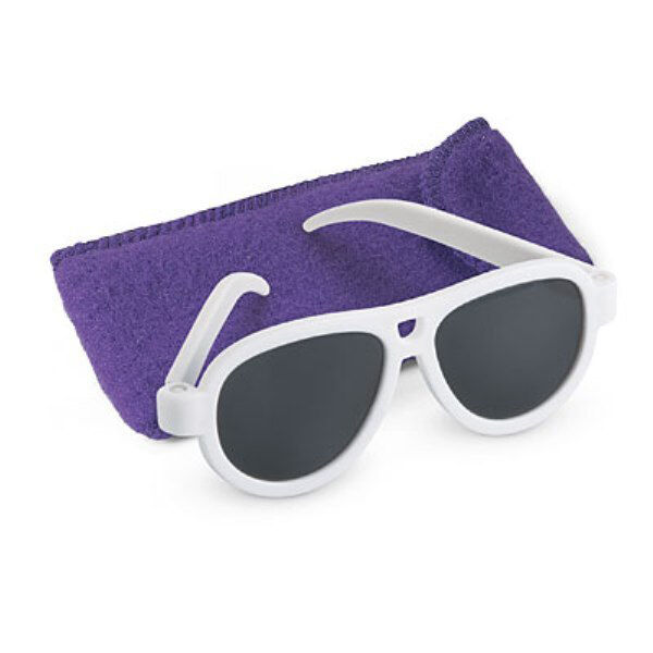 American Girl White Framed Sunglasses for 18 Inch Doll With Cloth ...