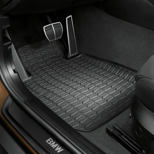Floor Mats Set Rubber OEM 2013 BMW X1 XDrive 35i