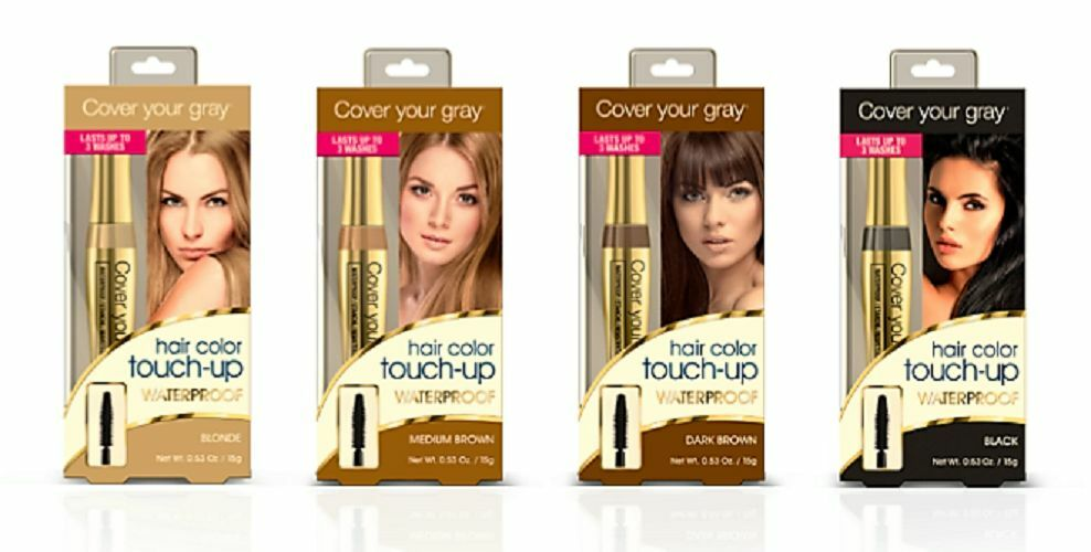 Cover Your Gray Hair Color Touch Up Waterproof Brush In 15g Blonde
