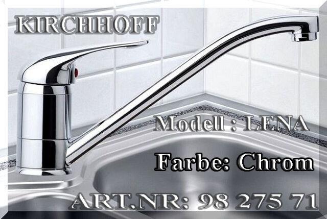 KIRCHHOFF LENA Küchen Spülbecken Spültischarmatur 360° Einhebelmischer chrom K2