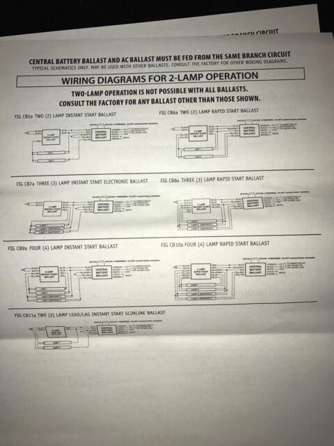 Modern 3 Lamp Ballast Wiring Diagram Pattern - Everything You Need ...