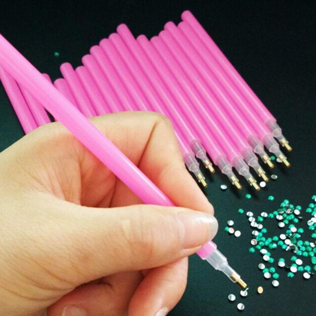 10 Pcs Dotting Pens Nail Art Painting Dot Tools Set Acrylic ...
