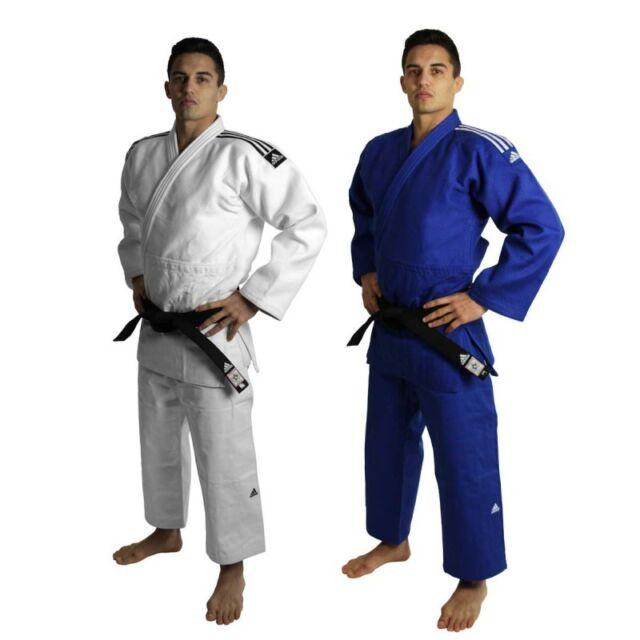 judogi adidas champion blu