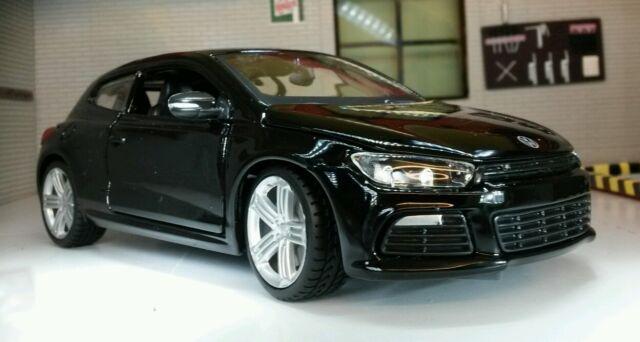 G LGB 1:24 Maßstab VW Scirocco 2.0 GT R DSG Coupe Burago detaillierte Modell