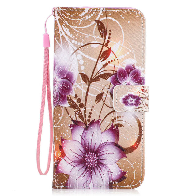 Pu leather wallet phone case cover flip stand magnetic closing for picture 13 of 13 mightylinksfo