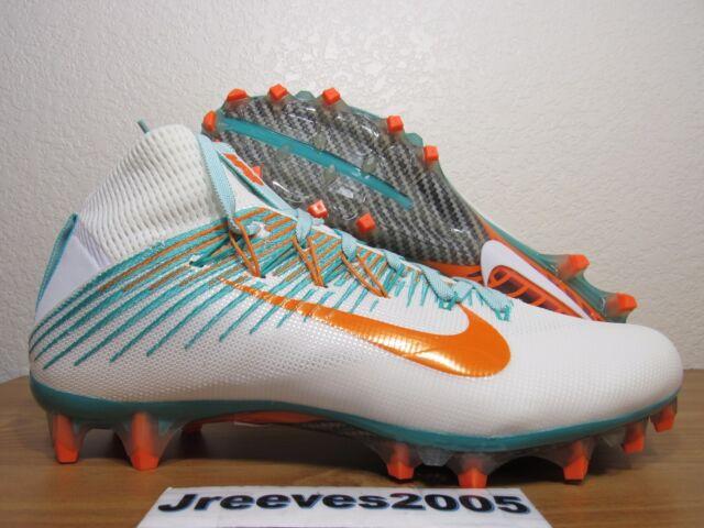 Nike Vapor Untouchable 2 Football Cleats Sz 10 100% Authentic White 835646  117